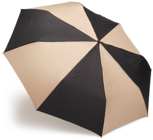 totes Auto Open Close Golf Size Umbrella, Black/British Tan, One (British Open Golf)