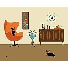 Wall Art Print entitled Mini Gravel Art 3 by Donna Mibus | 30 x 24