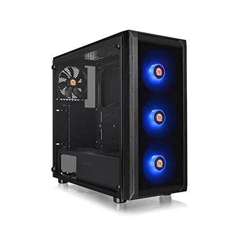 Gabinete Tt J23 Tg Rgb/Bk/Win/Spc com T.Glass x 1/Mb Sync, Thermaltake