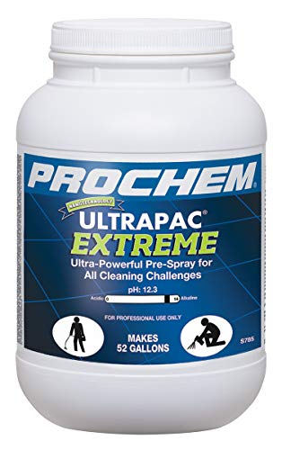 Ultrapac Extreme Professional Carpet Cleaning Pre-Spray Powder Removes The Toughest Soils, Dissolves Fast, 6 lb Jar