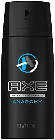 AXE Bodyspray Anarchy for Him 4 oz (Pack of 4)