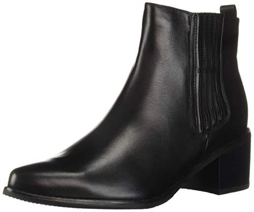 Blondo Women's Elvina Fashion Boot, Black Leather, 7 M US