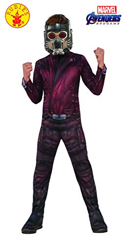 Rubie's Marvel Avengers: Endgame Child's Star-Lord Costume & Mask, Large -