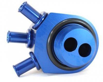 GrimmSpeed 02-07 WRX / 04-10+ STi BLUE Air Oil Separator