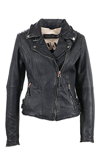Freaky Nation Trashy, Chaqueta para Mujer Schwarz (Used Black 9001)