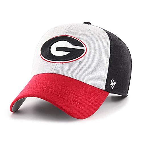 '47 NCAA Georgia Bulldogs Mens Hayes Clean Up Wool Adjustable Hathayes Clean Up Wool Adjustable Hat, Black, One Size