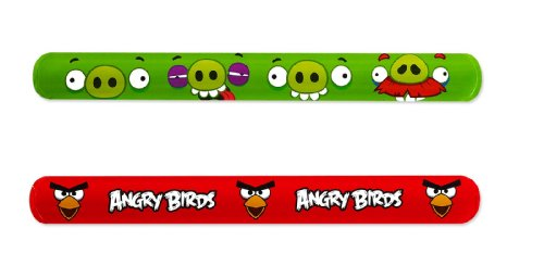 Angry Birds Paper Slap Bracelet Party Accessory -