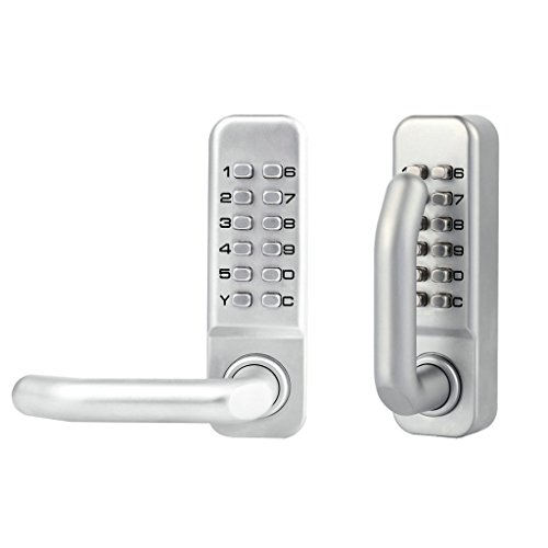 MagiDeal Double-sided Door Lock Mechanical Password Combination Entrance Keyless
