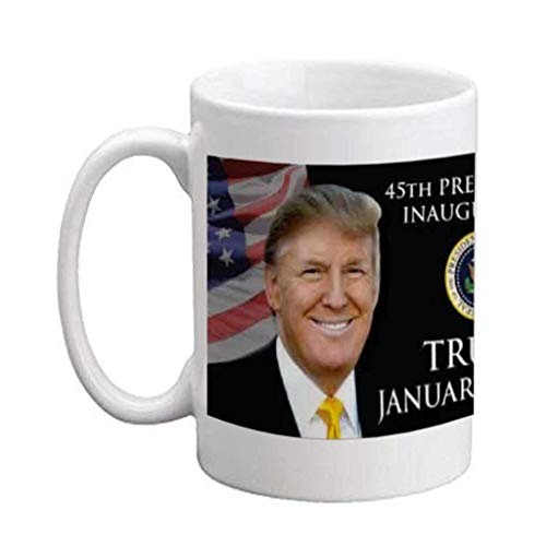 VictoryStore Ceramic Mugs - Donald Trump 2017, 45th Presidential Inauguration Coffee Mug, 15oz