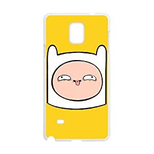 Adventure Time Finn Samsung Galaxy Note 4 Cell Phone Case White Protect your phone BVS_642303