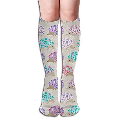 Women Tube Dresses Mid High Stockings Cosplay Socks Hedgehog Polkadot Oven Mitts