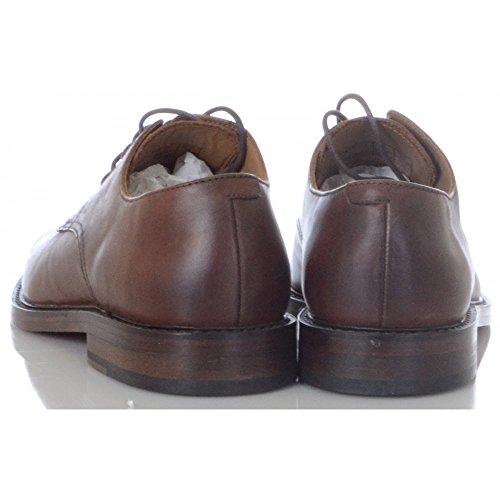 Schuhe Newent Lauren Ralph Leder braun Schuh B5gAwq