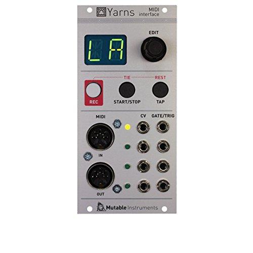 Mutable Instruments MM Yarns B07674H8Z6 ユーロラック モジュラーシンセ Mutable ユーロラック B07674H8Z6, 【メーカー公式ショップ】:d4605450 --- verkokajak.se