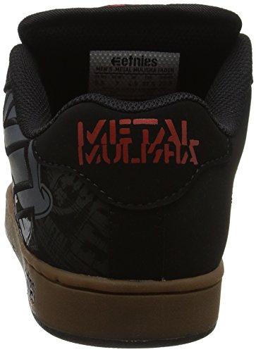 Etnies Herre Metal Mulisha Fader SkateboardSko Sort (sort / Gummi / Grå) DAqtebr
