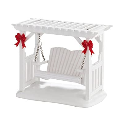 Department 56 Decorative Accessories for Village Collections, Picket Lane Garden Swing General, 2.17-Inch