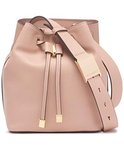 Calvin Klein Avery Micro Pebble Leather Bucket Bag