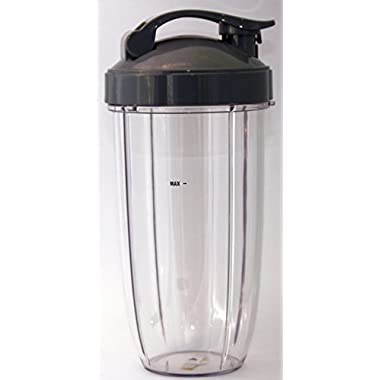 NutriBullet 32 oz. Colossal Cup with Flip Top To-Go Lid Bundle