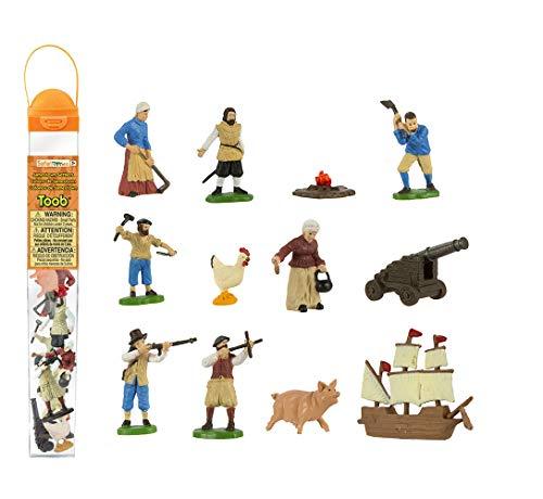 Safari Ltd. Jamestown Settlers TOOB with 10 Fun Figurines ()