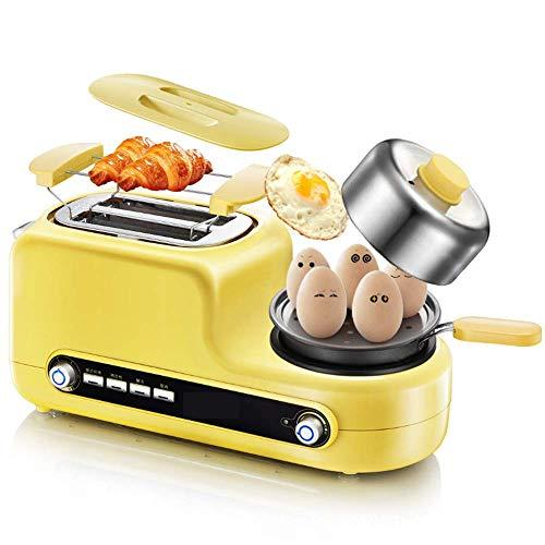 Pan 220v (QIN.J.FANG-Kitchen 5 in 1 Multi-function toaster omelet, Toast, steamed egg, steamed meat, fried egg, non-stick frying pan,220 V)