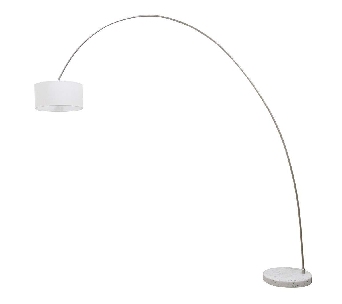 Bogenleuchte Elegant Arc Weiß, Ausladung 220cm, Höhe 220cm, 10455 10455 10455 4f6cae
