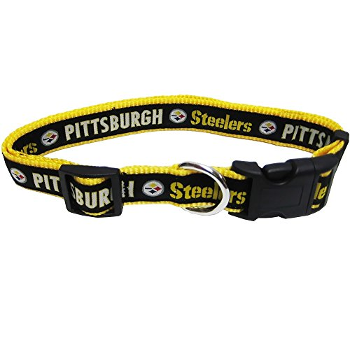 Pets First NFL Pittsburgh Steelers Pet Collar