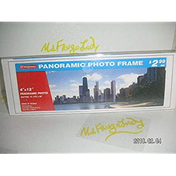 Amazon Prinz Acrylic Panoramic Picture Frame For 12 X 4