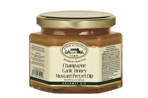 Champagne Garlic Honey Mustard Pretzel Dip, 13.5 oz by Robert Rothschild Farm
