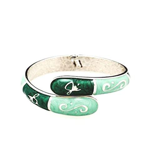 FUMI 3 in 1 Fashion Bangle Bracelet / Purse Bling / Purse Hook Accessory / Bag Hanger / - Hanger Jade