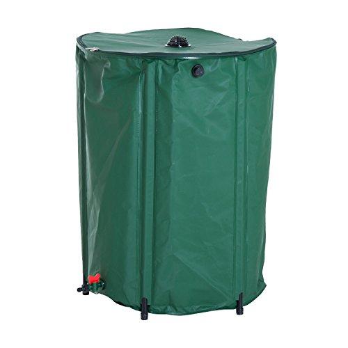 Rain Urn (totoshop 60 Gallon Rain Barrel Collapsible Portable Water Collection Tank Storage)