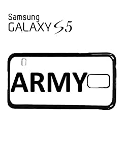 Army Soldier Mobile Cell Phone Case Samsung Galaxy S5 White