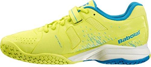 All la amarillo textil mujer en Babolat Propulse BPM tenis zapatos court anTUE