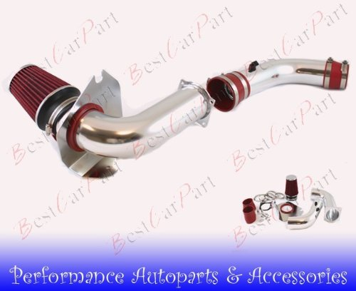 94 95 96 97 98 Ford Mustang 3.8l V6 Cold Air Intake Red (Include Air Filter) #Cai-fd003r