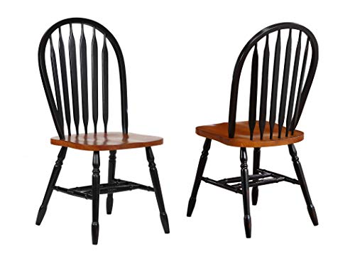 Sunset Trading Arrowback Dining Chair, Set of 2, 38