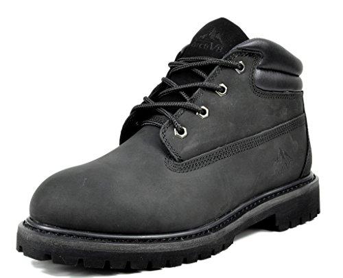 arctiv8 Men's HAWK-03 Black Full-Grain Leather Work Boots - 11.5 M -