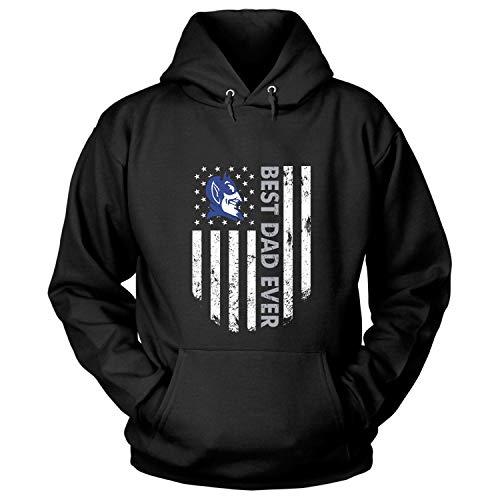 Duke Blue Devils Best Dad Ever T Shirt, Father's Day 2019 T Shirt - Hoodie (XXXL, Black)