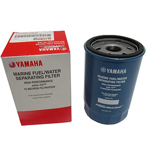 OEM Yamaha Mini-10 10-Micron Fuel/Water Separating Filter Only MAR-MINIF-IL-TR (Yamaha Fuel Filter)