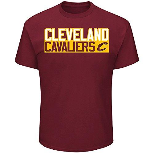 Cleveland Cavaliers Isaiah Thomas Vertical Player T-Shirt Red (Medium)