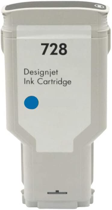 728 - Cartuchos de tinta compatibles con HP Designjet T830 y T730, color cian size: Amazon.es: Oficina y papelería