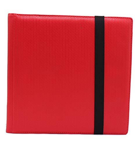 (Red Dex Protection Limited Edition Proline Binder 12 Card Storage Binder)