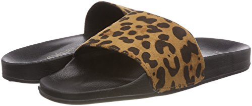 27132 30 Multicolor 5 Leopard Mules 907 5 s Mujer para 907 Oliver IxpTqtqUw4