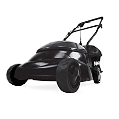 GREAT IN TIGHT SPACES! Responding to the need for an easy-to-use electric mower for smaller lawns, Sun Joe developed the Mow Joe MJ401E. Compact and lightweight (only 29 lbs), the Mow Joe MJ401E is a lean, mean and green mowing machine that g...