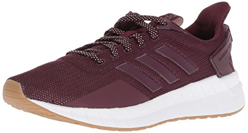 adidas Women's Questar Ride Running Shoe, Maroon/Gum, 11 M US