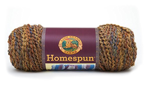 Vintage Homespun - Lion Brand Yarn 790-420C Homespun Yarn, Vintage, 3 Skeins, 3 Balls of Yarn