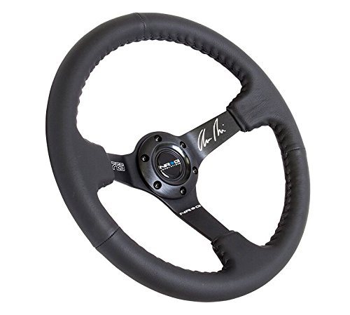 NRG Innovations RST-036MB-R Reinforced Odi Signature Race STYLE-350mm Sport Steering Wheel