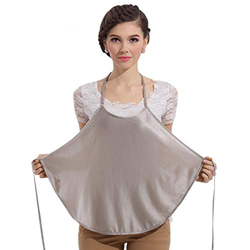 (Encounter G Anti-Electromagnetic Radiation Maternity Clothes Radiation Protection Vest 100% Silver Fiber Shielding Radiation of Household Appliances Pregnancy Protection Apron Pregnancy)