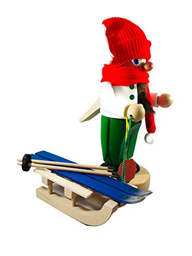 Steinbach Nutcrackers Troll Winter with Sleigh 11 Inches Tall Kurt Adler Brand New Hand Made in Germany by Steinbach (Image #2)