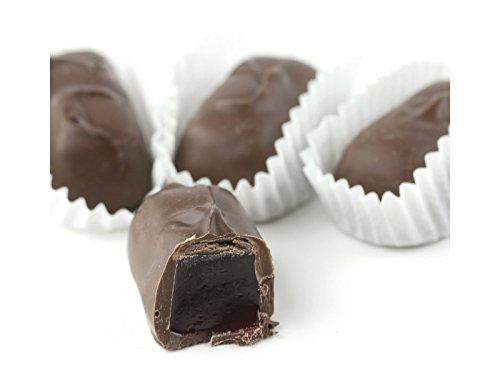 Sugar Free Milk Chocolate Covered Raspberry Jellies - One Pound
