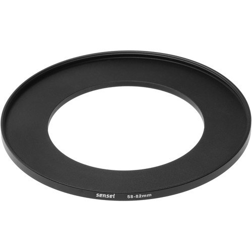 Sensei 58mm Lens to 82mm Filter Step-Up Ring