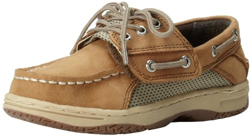 Toddler Top Sperry (Sperry Billfish JR Boat Shoe (Toddler/Little Kid),Dark Tan,5.5 W US Toddler)