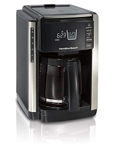 Hamilton Beach 45300R TruCount Coffee Maker, 12 Cup, Black (Renewed)